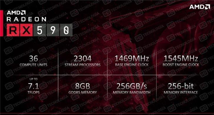 AMD的「煤气灶」了解一下,RX 590 公版显卡外观泄露 - 热点资讯