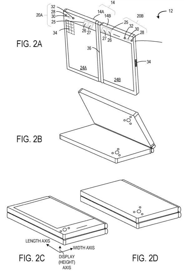 微软可折叠设备技术专利曝光:可折叠要成主流? - 热点资讯