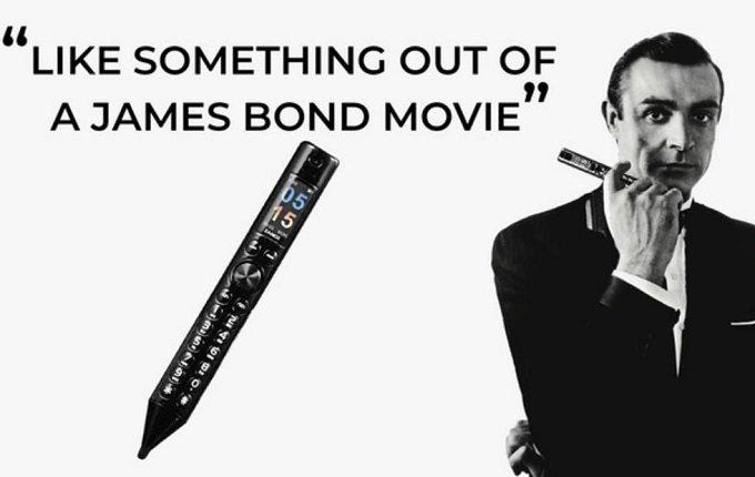 现在笔也能当手机了?全球首款笔状手机 Zanco S-Pen - 热点资讯