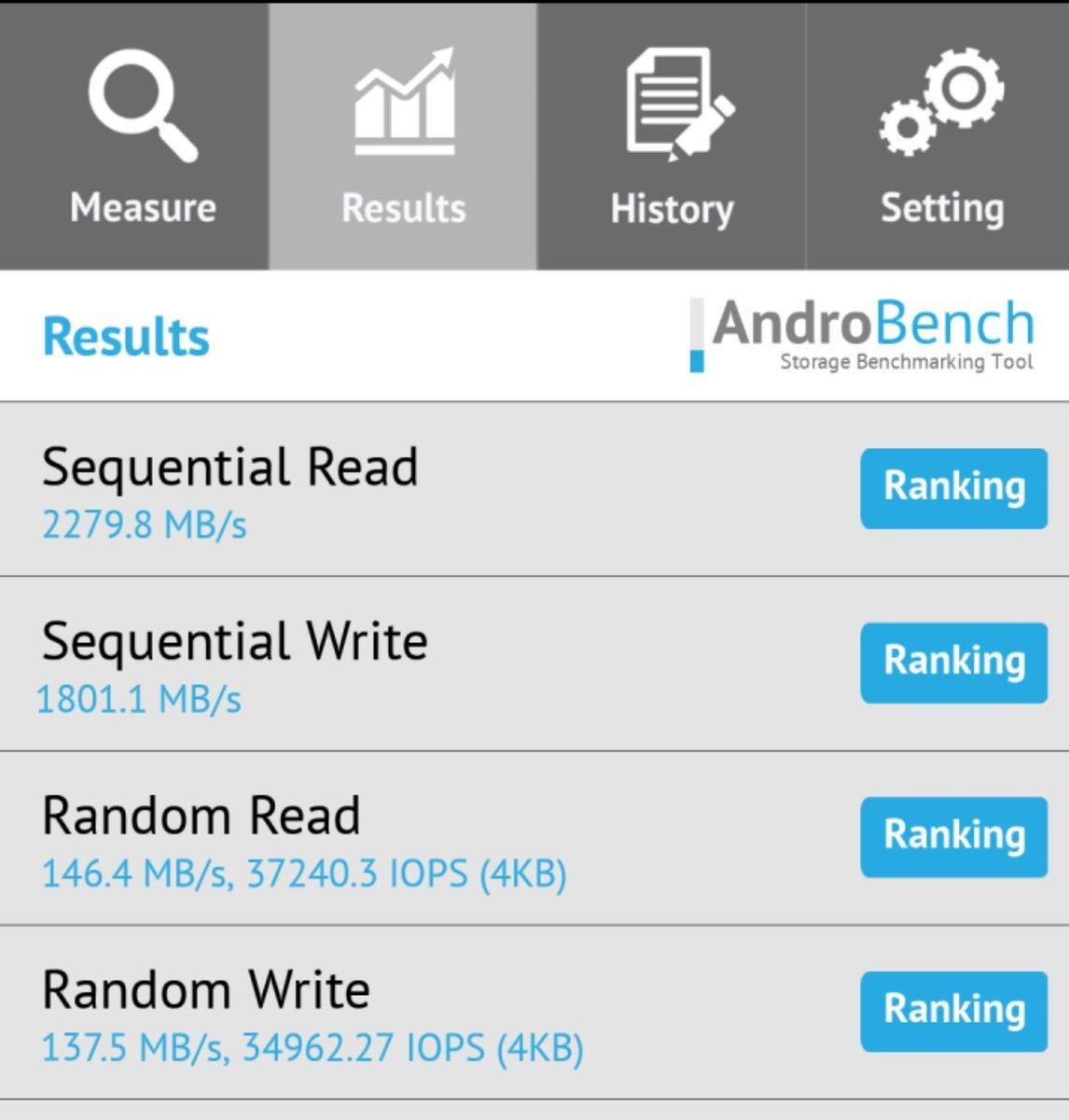 速度狂飙:UFS 3.0 读写速度曝光,突破 2GB/s - 热点资讯