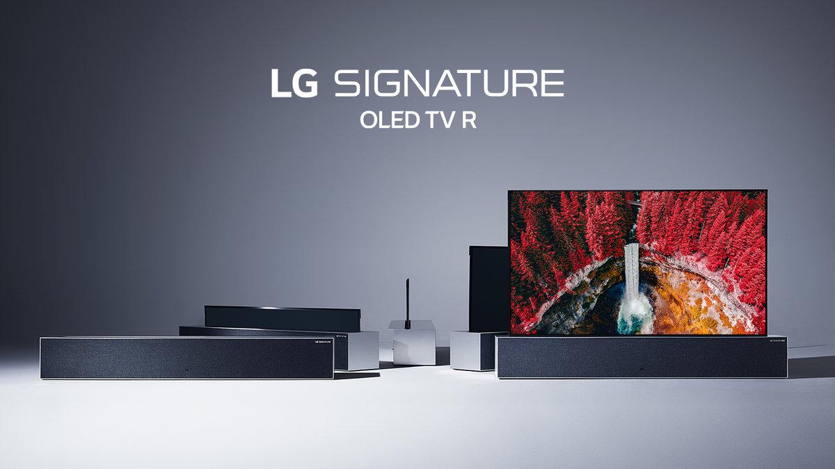 LG 正式发布全球首款可卷曲 OLED 电视,或 3 月上市 - 热点资讯