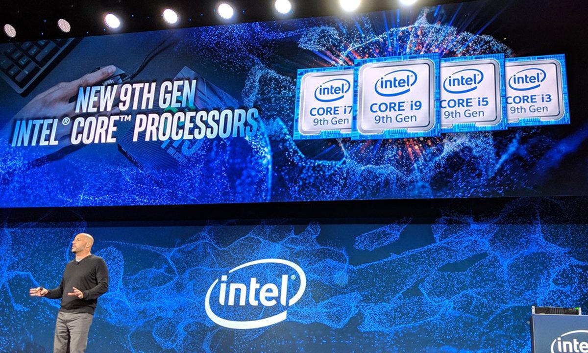 英特尔:第九代处理器笔记本Q2出货,10nm今年就有 - 热点资讯
