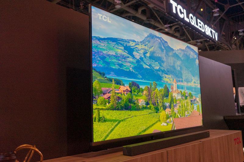 TCL QLED 8K 电视及 XESS 生态链新品 CES 现场体验 - 热点资讯