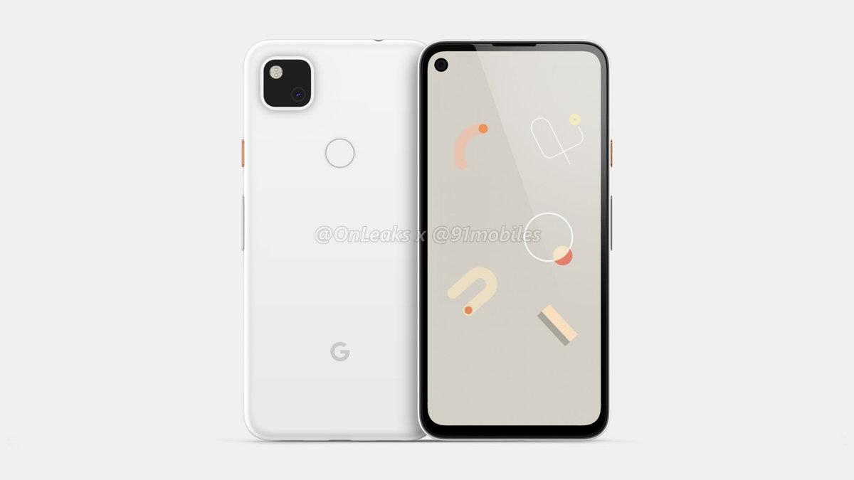 单摄也可以有「浴霸」:谷歌 Pixel 4a 手机渲染图曝光 - 热点资讯