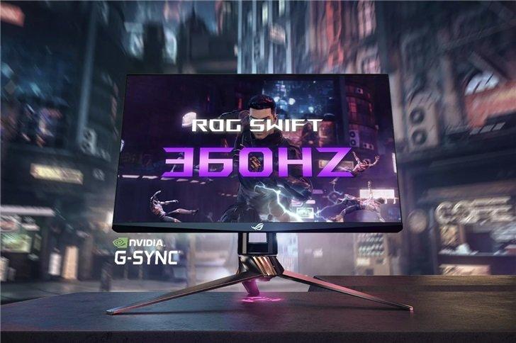 快到飞起,ROG 发布 360Hz 刷新率显示器,支持G-Sync - 热点资讯