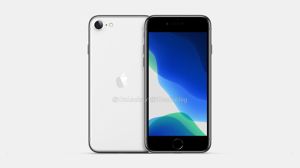 iPhone SE2 最新渲染图曝光,复刻 iPhone 8? - 热点资讯
