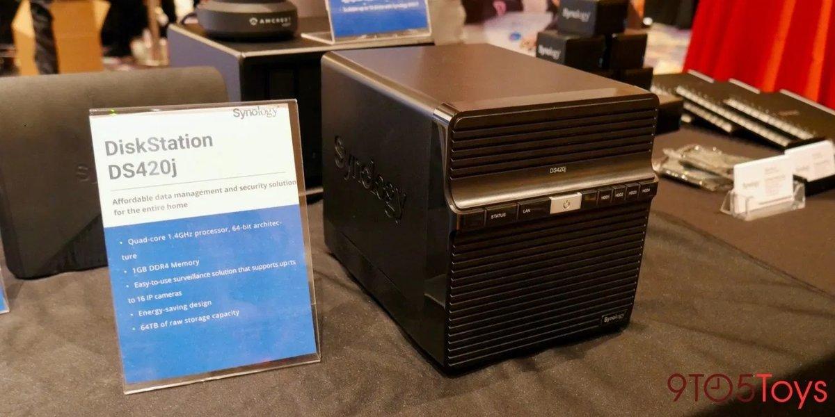 群晖发布DS420j入门四盘位NAS:升级四核处理器 - 热点资讯