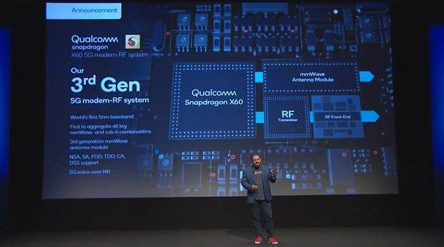高通:70多部5G手机搭载骁龙865,明年推出X60基带 - 热点资讯