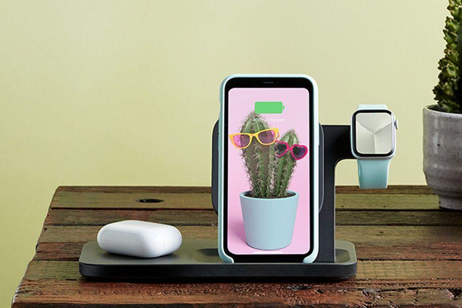 罗技发布三合一无线充电器,可同时给手机手表耳机充电 - 热点资讯