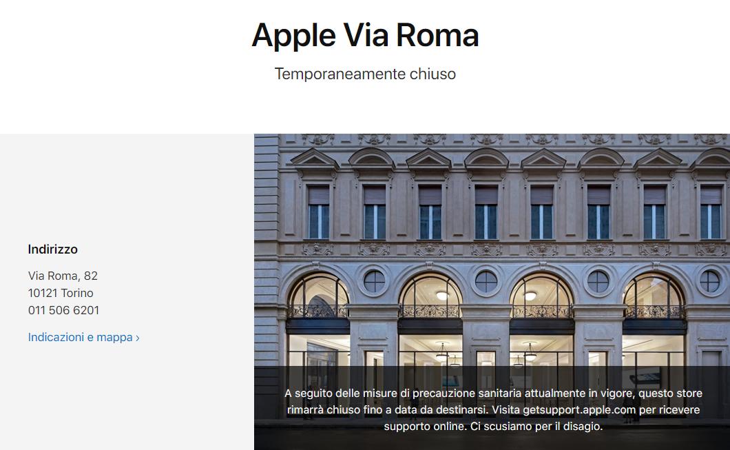 苹果关闭意大利所有 Apple Store 门店 - 热点资讯