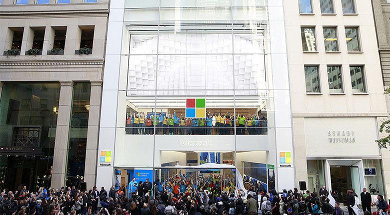 【力皮西】微软完全放弃直营零售店,要开「只看不卖」的纯体验店