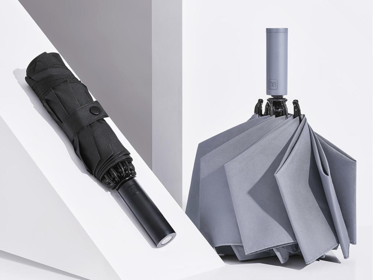 仅售 49 元:小米有品众筹自动反向折叠伞,还支持照明