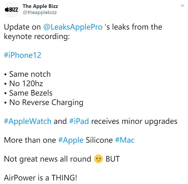 iPhone 12 发布会开始录制,关键配置曝光 - 热点资讯 每日推荐 第2张