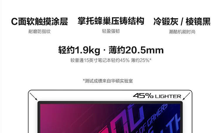 华硕 ROG 幻 15 上架,搭载 4K 屏只要 12999 元 - 热点资讯 首页 第3张