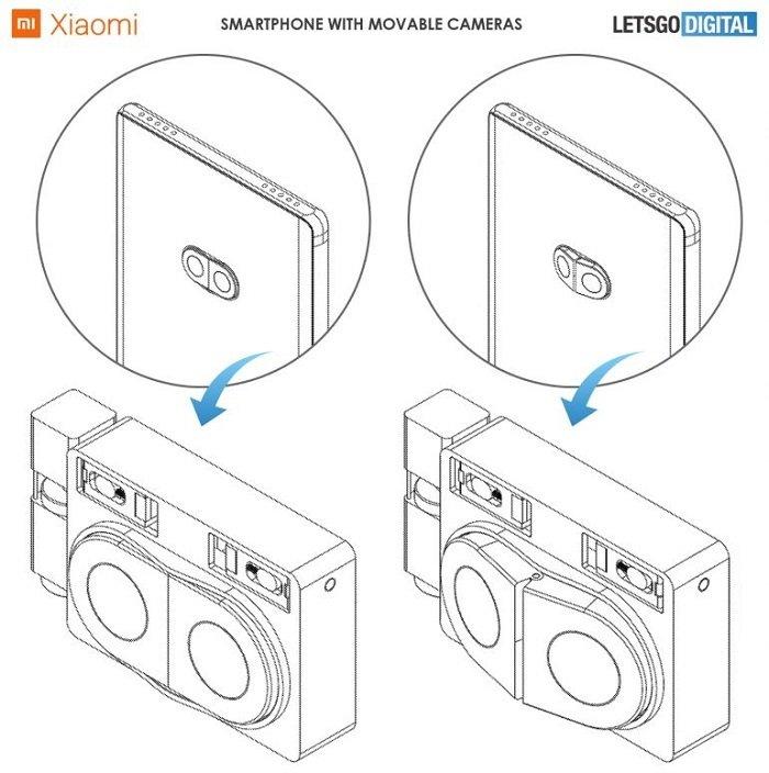 小米可移动后置摄像模组专利曝光:实现更好的广角效果 - 热点资讯 家电百科 第2张