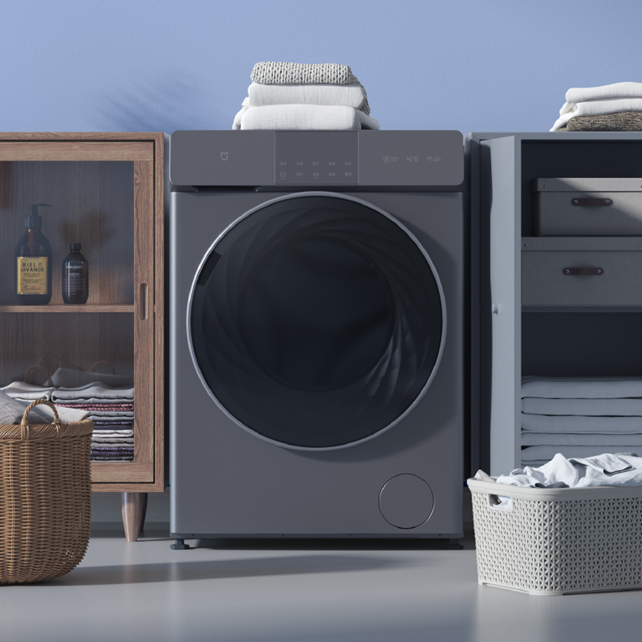 小米首款直驱电机洗衣机,米家互联网直驱洗烘一体机 10kg发布 - 热点资讯 首页 第1张