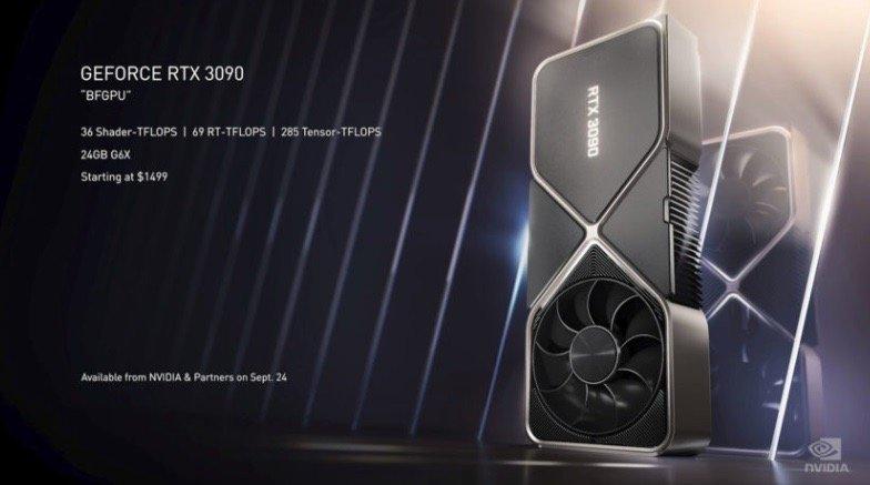 英伟达 RTX 30 系列产品发布,不只有首款 8K 游戏显卡 - 热点资讯 首页 第9张