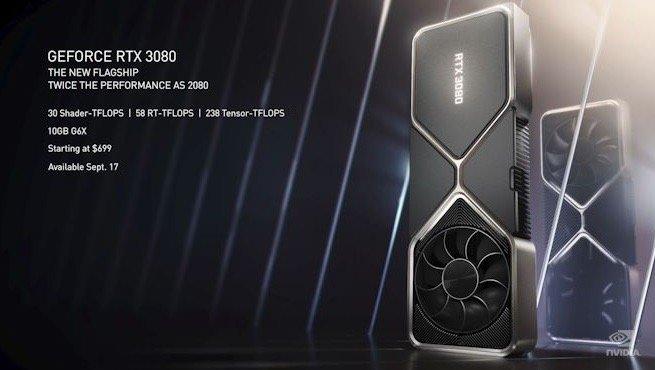 英伟达 RTX 30 系列产品发布,不只有首款 8K 游戏显卡 - 热点资讯 首页 第4张
