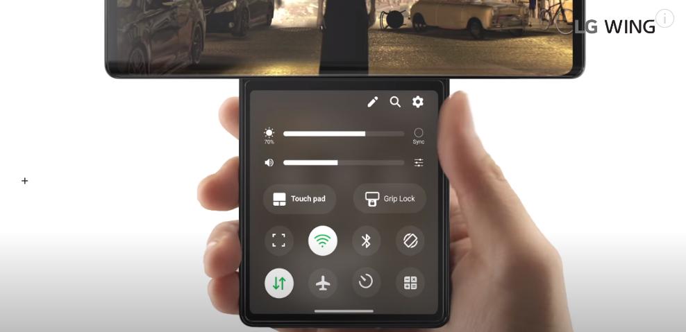 LG Wing 正式发布:最大胆的双屏手机终于还是来了 - 热点资讯 首页 第9张