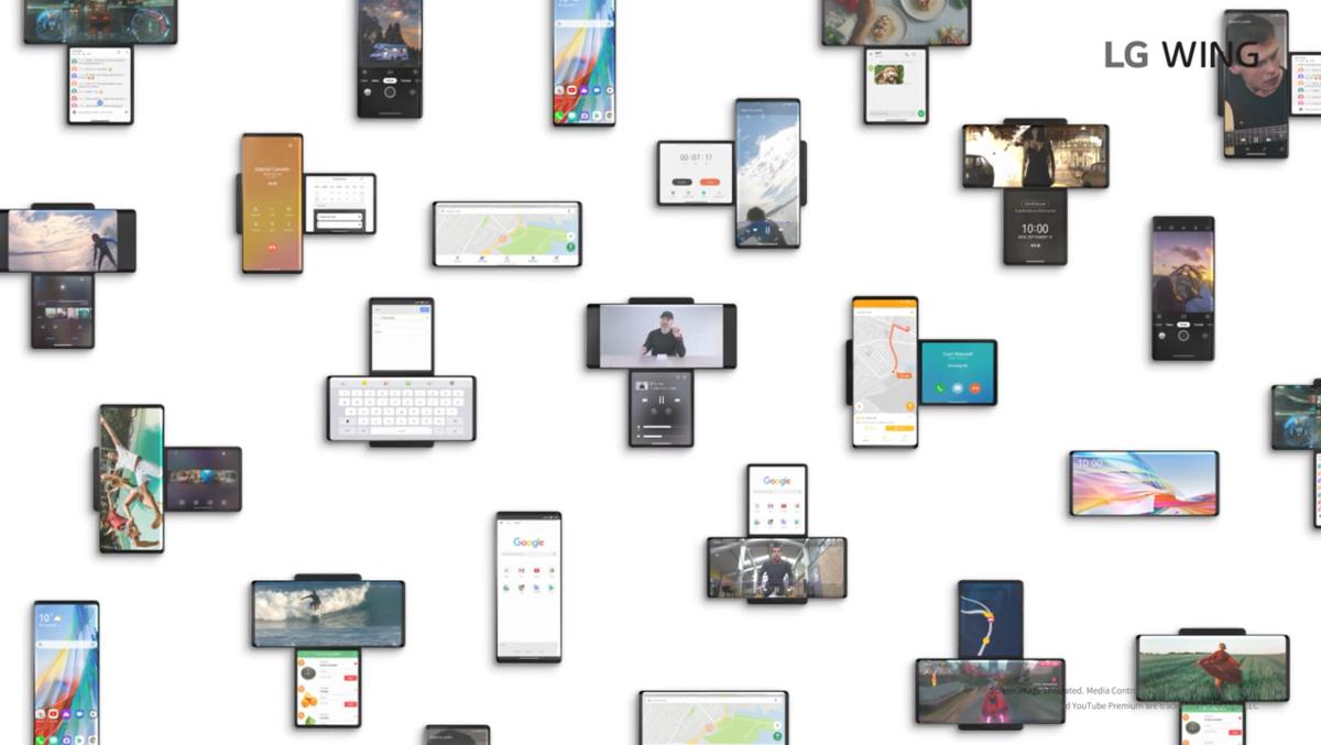 LG Wing 正式发布:最大胆的双屏手机终于还是来了 - 热点资讯 首页 第16张