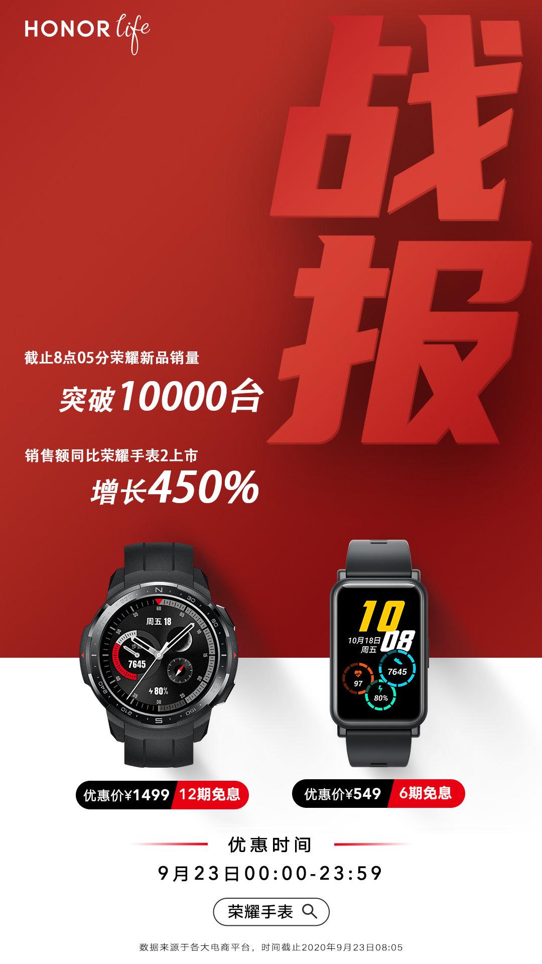 荣耀手表 GS Pro 首销告捷,1499 元起 探索与腕上潮流 - 热点资讯 家电百科 第1张
