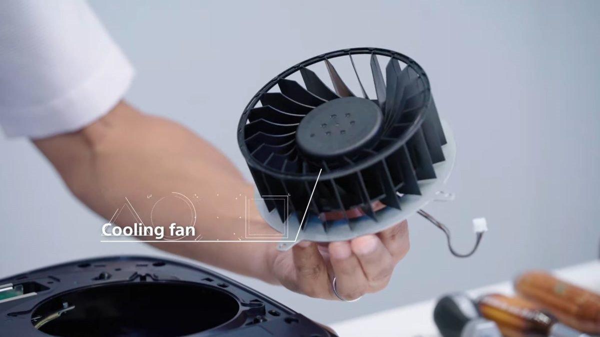 PS5 官方拆解视频发布:豪华散热,内置 M.2 硬盘位 - 热点资讯 每日推荐 第17张