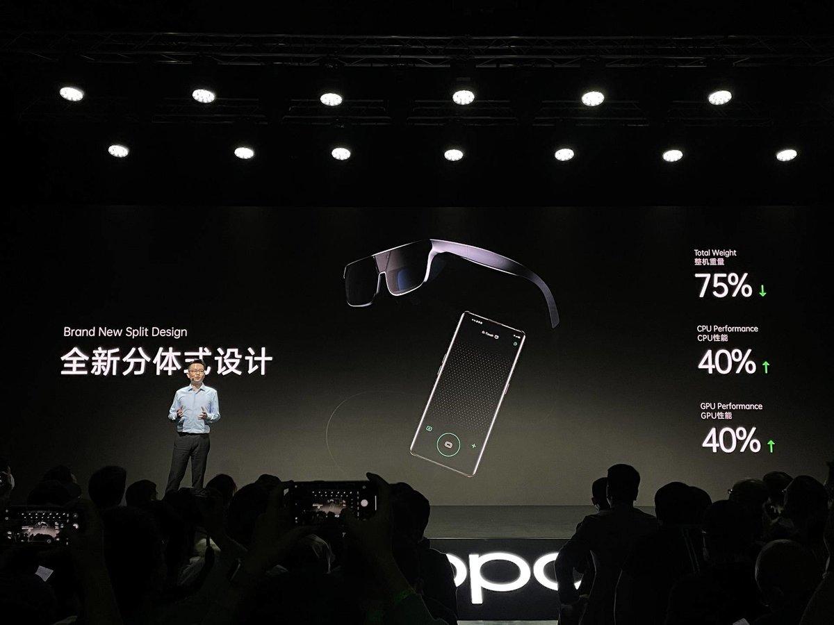 OPPO AR Glass 2021 正式亮相,全新 AR 体验就在眼前 - 热点资讯 家电百科 第1张