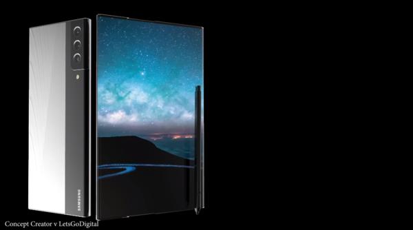 """三星卷轴屏手机再曝,将命名为""""Galaxy Scroll"""" - 热点资讯 家电百科 第2张"""