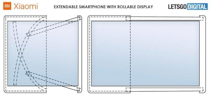 MIX Alpha升级版?小米卷轴屏设计专利曝光 - 热点资讯 每日推荐 第1张