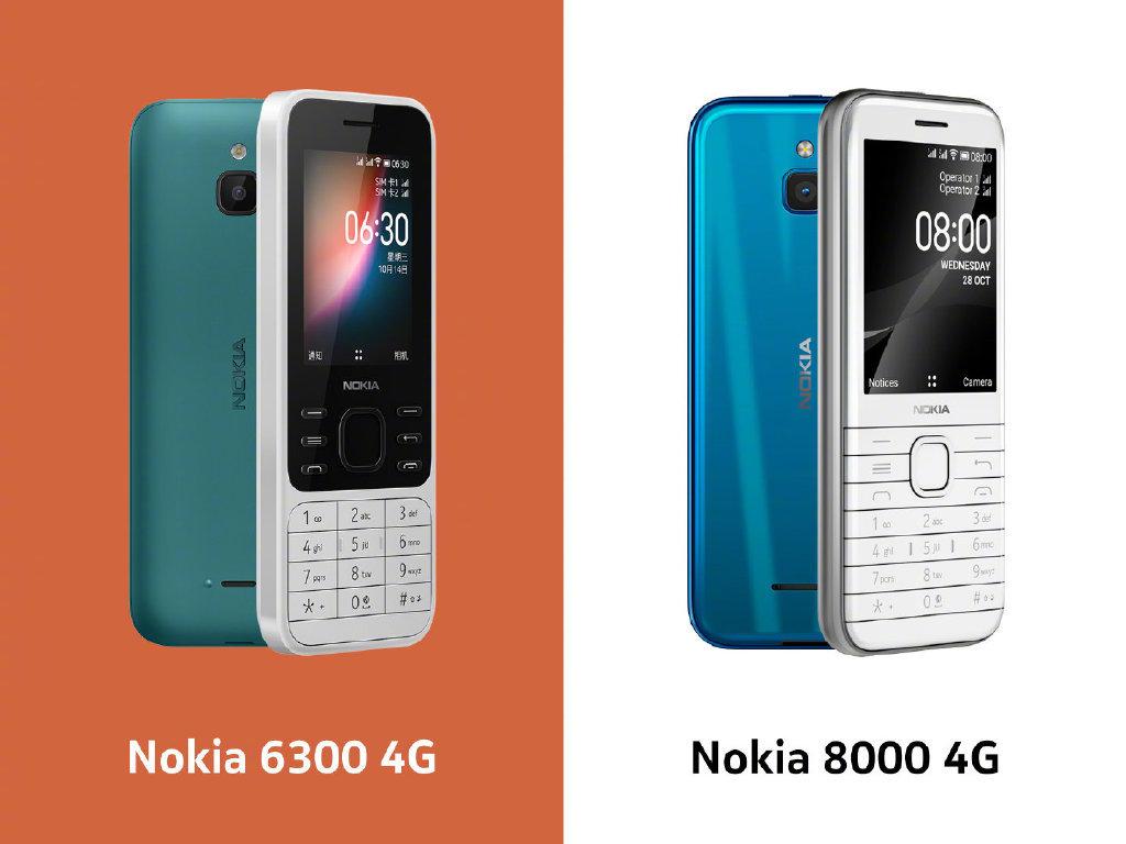 诺基亚官宣两款4G功能机,搭载KaiOS,12月15日见 - 热点资讯 家电百科 第2张
