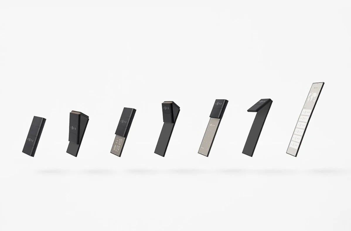 折叠屏新思路,OPPO联手日本工作室推出三段翻折概念机 - 热点资讯 家电百科 第1张